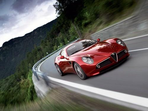 Alfa Romeo 8C Competizione 132